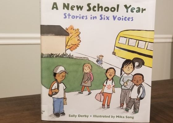 A New School Year: Stories in Six Voices – Elena Reads and Reviews